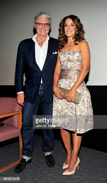 Actors Michael Nouri and Jennifer Beals attend the 30th Anniversary Screening of Flashdance at the Aero Theatre on September 21 2013 in Santa Monica...