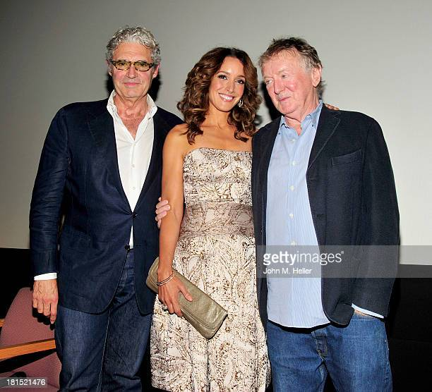 Actors Michael Nouri Jennifer Beals and director Adrian Lyne attend the 30th Anniversary Screening of Flashdance at the Aero Theatre on September 21...