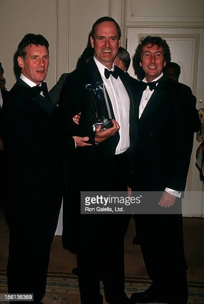 Actors Michael Palin John Cleese and Eric Idle attending 'Screen Actors Guild Jack Oakie Awards' on January 10 1994 at Regent Beverly Wilshire Hotel...