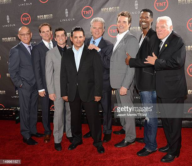 Actors Michael Paul Chan Phillip P Keene Jonathan Del Arco Raymond Cruz Anthony John Denison Jon Tenney Corey Reynolds and GW Bailey attend the...
