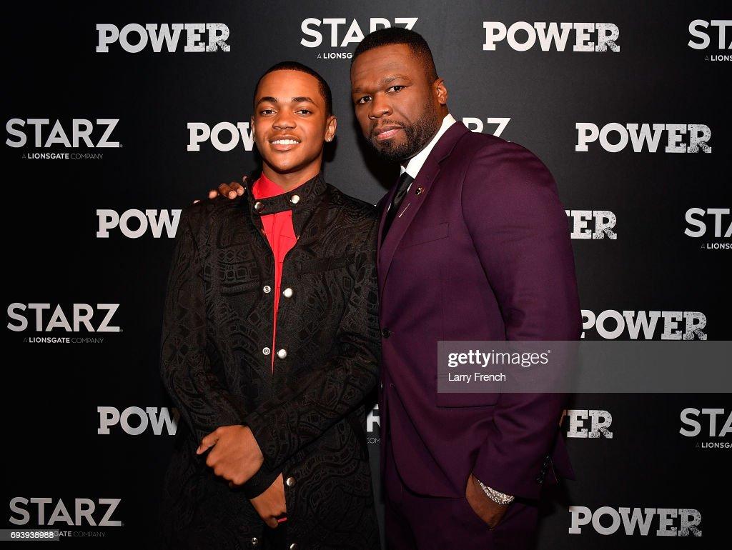 """Starz' """"Power"""" Washington, D.C. Season Four Premiere : News Photo"""