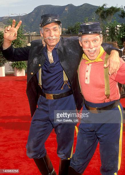 Actors Michael Richards and Phil Hartman attend the taping of Bob Hope's Birthday Celebration on May 1 1993 at NBC Studios in Burbank California