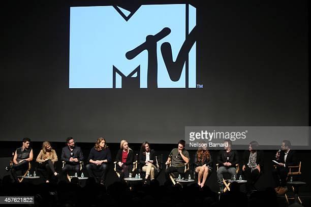 Actors Michael Willett and Rita Volk Executive Producer Carter Covington actors Anna Jacoby Heron and Alex Saxon Executive Producer Emily Whitesell...
