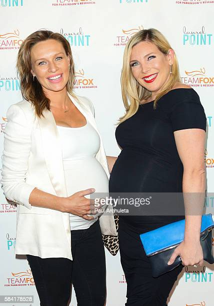 "Actors Michaela McManus and June Diane Raphael attend the ""Raising The Bar To End Parkinson's"" at Laurel Point on July 27, 2016 in Studio City,..."