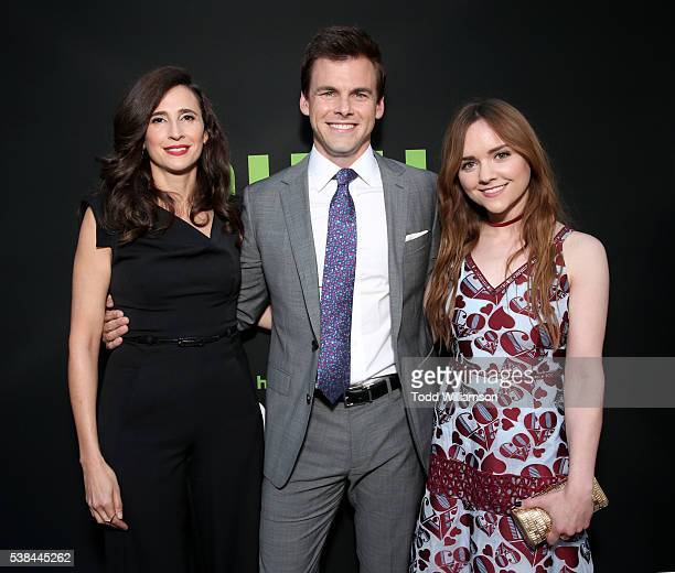 Actors Michaela Watkins Tommy Dewey and Tara Lynne Barr attend the 'Casual' Season 2 premiere and FYC event at ArcLight Hollywood on June 6 2016 in...