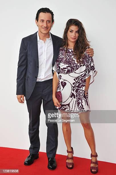Actors Michele Alhaique and Giulia Michelini attend the Cavalli premiere during 68th Venice Film Festival at Palazzo del Cinema on September 5 2011...