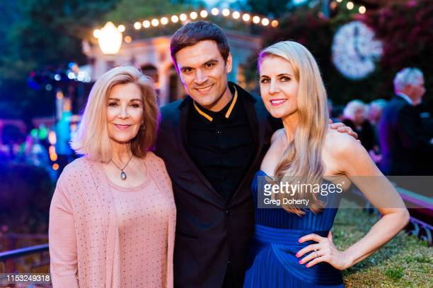 Actors Michelle Beaulieu Kash Hovey and Kathy Kolla attend Brooke Mark's Marriage Soiree The Magic Of Hollywood Houdini Estate on June 01 2019 in Los...
