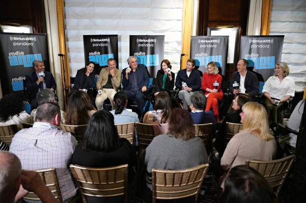 NY: SiriusXM Town Hall Special With The Cast Of Downton Abbey Hosted By Andy Cohen On His Exclusive SiriusXM Channel Radio Andy