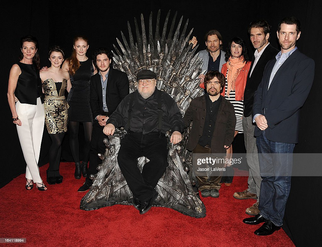 "The Television Academy Of Arts And Sciences' Presents An Evening With ""Game Of Thrones"" : Fotografía de noticias"