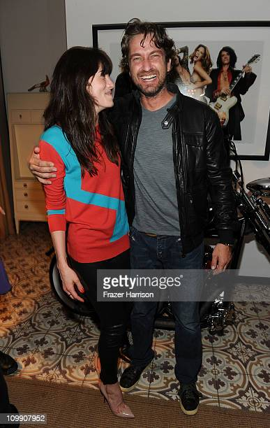 Actors Michelle Monaghan and Gerard Butler attend the Have A Heart For Children Charity fundarasing event at Palihouse Holloway on March 9 2011 in...