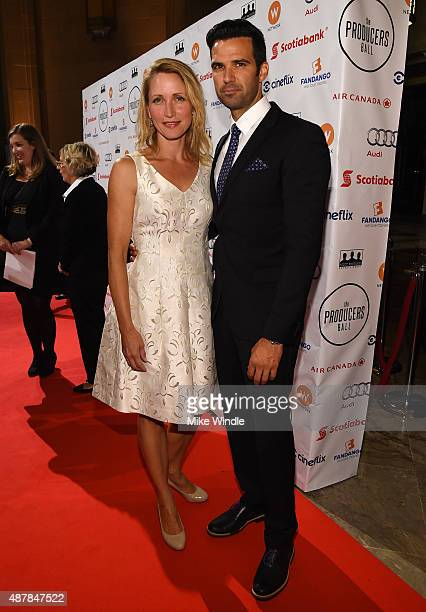 Actors Michelle Nolden and Benjamin Ayres attend the 5th Annual Producers Ball presented by Scotiabank in support of The 2015 Toronto International...