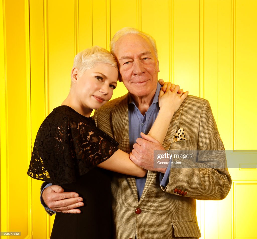 Christopher Plummer & Michelle Williams, Los Angeles Times, January 9, 2018