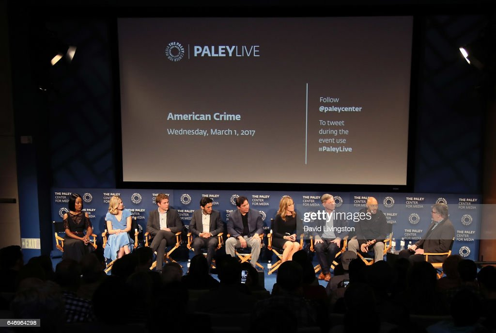 "The Paley Center For Media Presents A Premiere Screening And Conversation For ABC's ""American Crime"" Season 3 - Inside : News Photo"