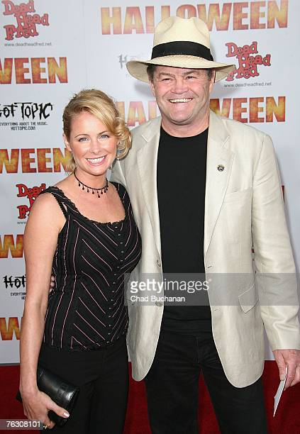 Actors Micky Dolenz and Ami Dolenz attend the premiere of MGM's Halloween at Grauman's Chinese Theatre on August 23 2007 in Los Angeles California