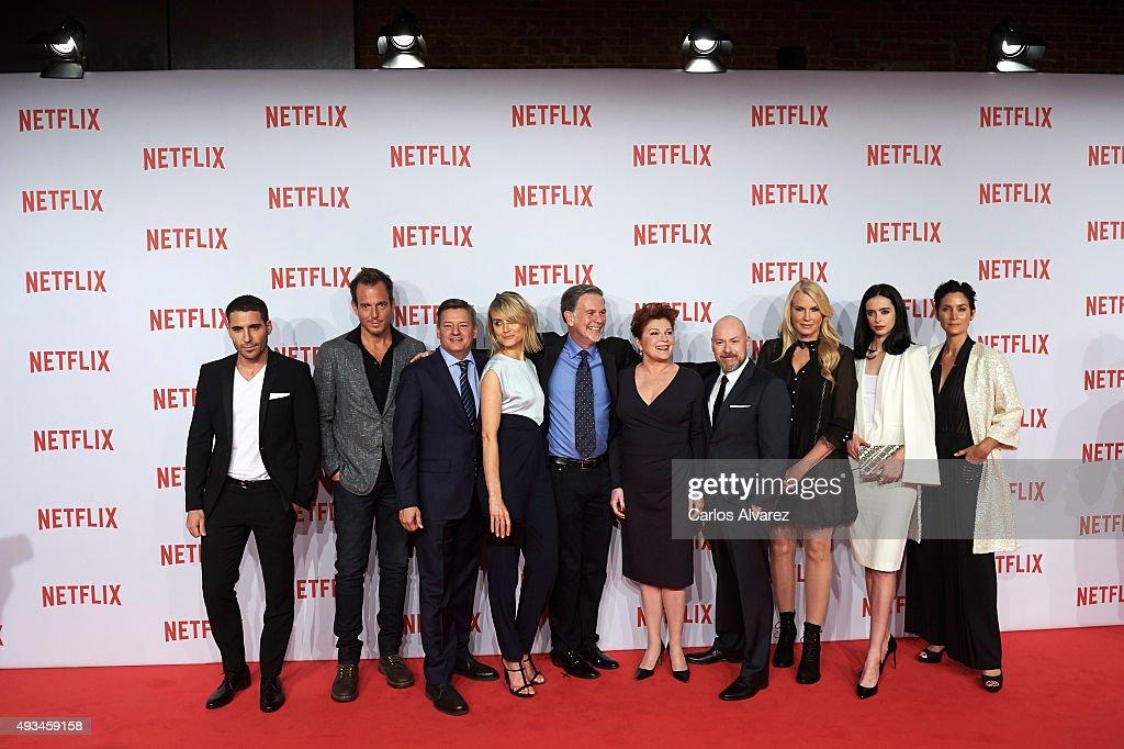 Netflix Spain's Presentation Red Carpet