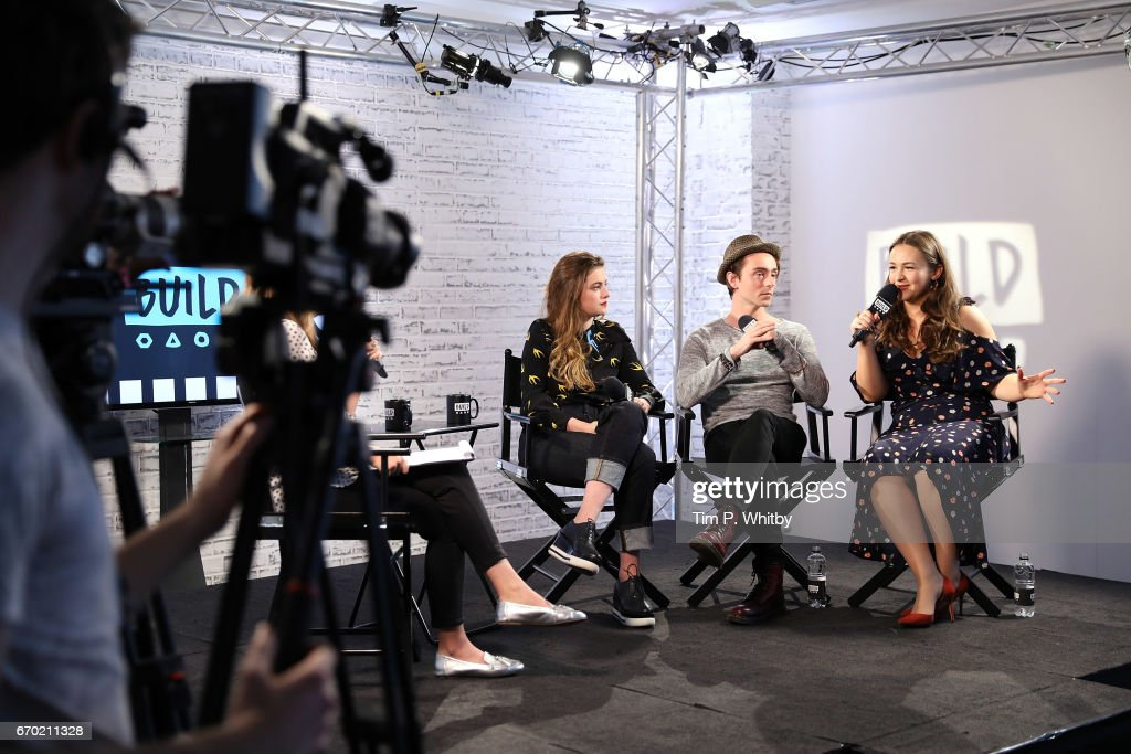 Actors Millie Brady, David Dawson and Eliza Butterworth discuss their roles in BBC 2's The Last Kingdom at the Build LDN event on April 19, 2017 at AOL Studios in London, United Kingdom.