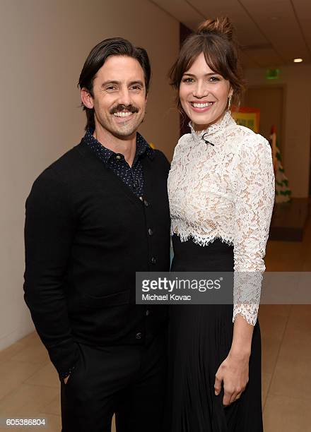 Actors Milo Ventimiglia and Mandy Moore arrive at The Paley Center for Media's 10th Annual PaleyFest Fall TV Previews honoring NBC's This Is Us at...
