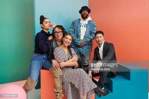 Actors Miranda Rae Mayo, S. Epatha Merkerson, Lisseth Chavez, Laroyce Hawkins and Brian Tee are photographed for Entertainment Weekly Magazine on...