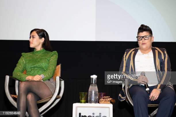 "Actors Mishel Prada and Ser Anzoategui attend 2019 Inside Out LGBT Film Festival - Screening Of ""Vida"" at TIFF Bell Lightbox on May 29, 2019 in..."