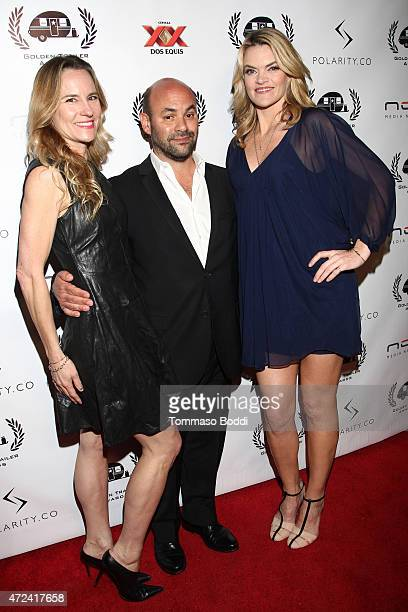 Actors Missi Pyle Ian Gomez and guest attend the 16th annual Golden Trailer Awards held at Saban Theatre on May 6 2015 in Beverly Hills California