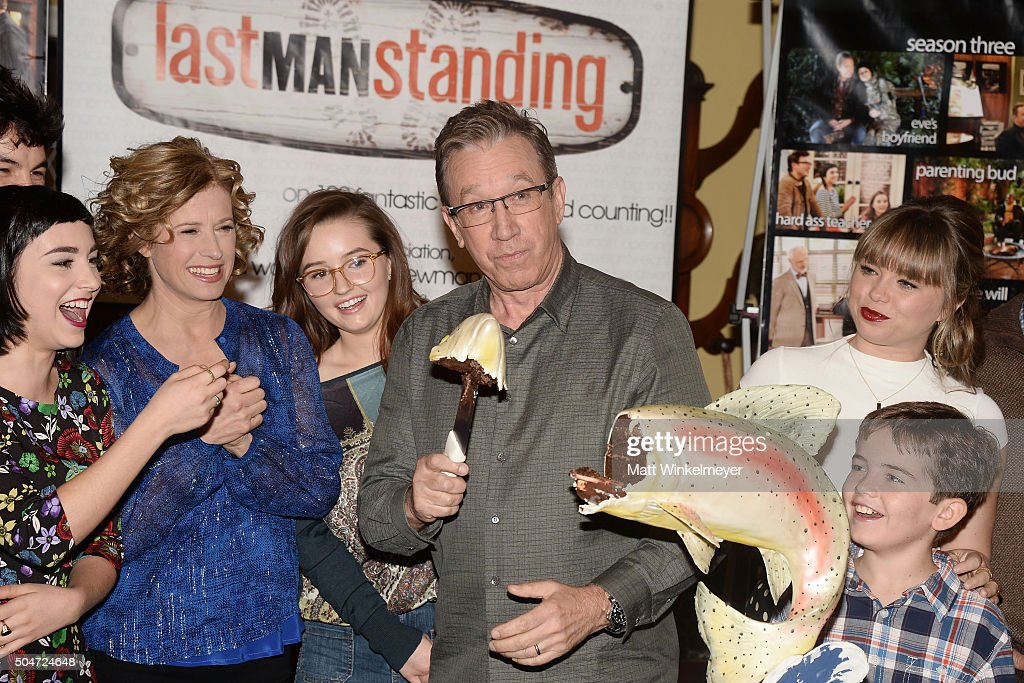 "100th Episode Celebration Of ABC's ""Last Man Standing"" : News Photo"