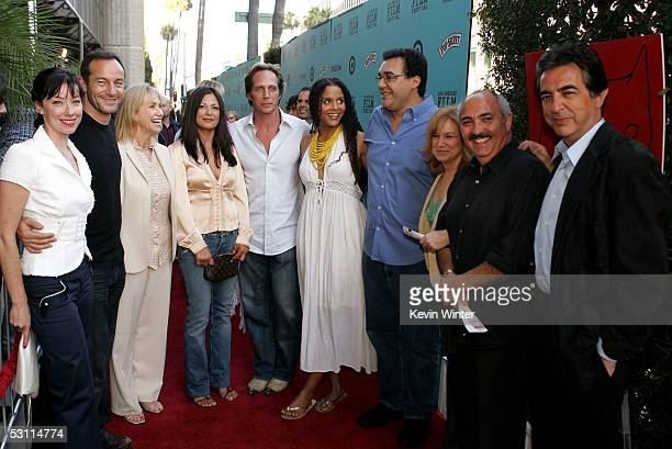 Actors Molly Parker Jason Isaacs Kathy Baker Elpidia Carrillo William Fichtner Sydeny Tamiia Poitier writer/director Rodrigo Garcia producer Julie...