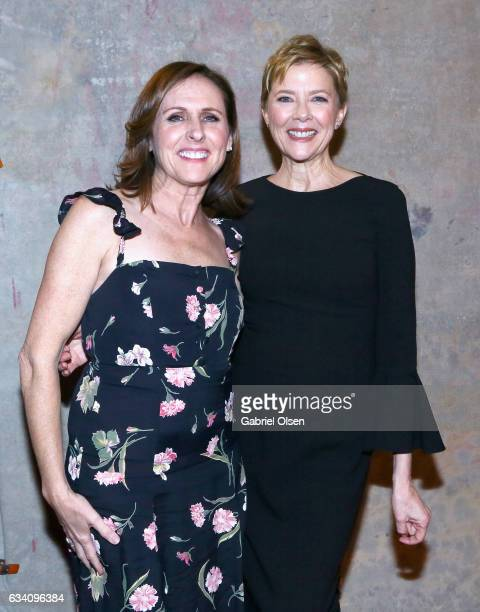 Actors Molly Shannon and Annette Bening attend the 16th Annual AARP The Magazine's Movies For Grownups Awards at the Beverly Wilshire Four Seasons...