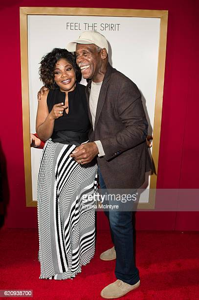 Actors Mo'Nique and Danny Glover arrive at the premiere of Universal's 'Almost Christmas' at Regency Village Theatre on November 3 2016 in Westwood...