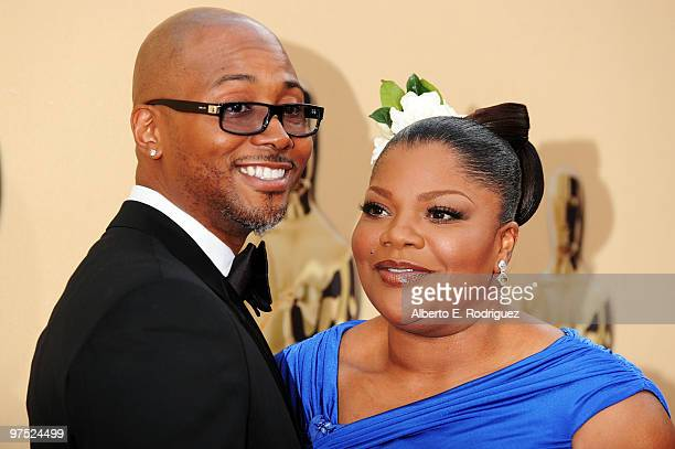 Actors Mo'Nique and Sidney Hick sarrive at the 82nd Annual Academy Awards held at Kodak Theatre on March 7 2010 in Hollywood California