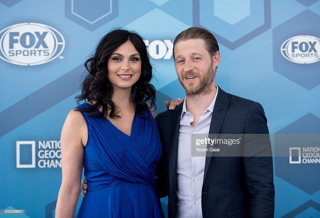 Actors Morena Baccarin and Ben McKenzie attend the 2016 Fox Upfront at Wollman Rink, Central Park on May 16, 2016 in New York City.