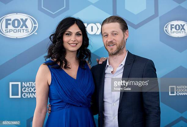 Actors Morena Baccarin and Ben McKenzie attend the 2016 Fox Upfront at Wollman Rink Central Park on May 16 2016 in New York City