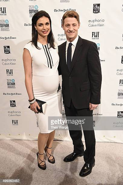 Actors Morena Baccarin and Ben McKenzie attend the 25th Annual Gotham Independent Film Awards at Cipriani Wall Street on November 30 2015 in New York...