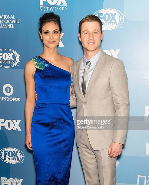 Actors Morena Baccarin and Benjamin McKenzie attend the 2015 FOX Programming Presentation at Wollman Rink Central Park on May 11 2015 in New York City