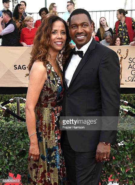 Actors Mykelti Williamson and Sondra Spriggs attend The 23rd Annual Screen Actors Guild Awards at The Shrine Auditorium on January 29 2017 in Los...