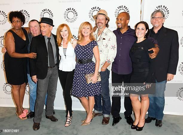 Actors Nancy Giles Troy Evans Robert Picardo Marg Helgenberger Chloe Webb Brian Wimmer Michael Boatman Ricki Lake and Jeff Kober attend...