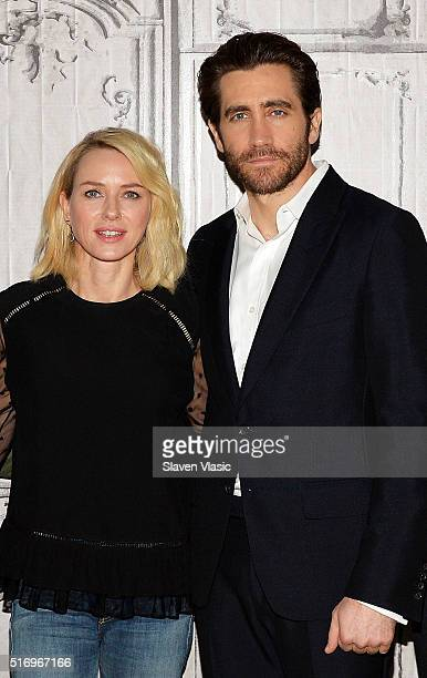 Actors Naomi Watts and Jake Gyllenhaal visit AOL Build Speaker Series to discuss their new film 'DemolitionÓ at AOL Build Speaker Series at AOL...