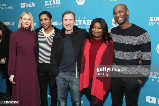 Actors Naomi Watts Kelvin Harrison Jr Tim Roth and Octavia Spencer and director/writer Julius Onah attend the Luce Premiere during the 2019 Sundance...