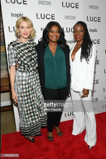 Actors Naomi Watts Octavia Spencer and Marsha Stephanie Blake attend the Luce New York Premiere at the Whitby Hotel on July 24 2019 in New York City
