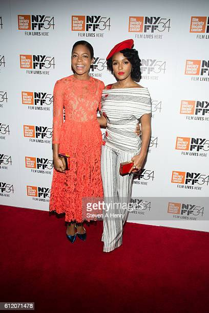 "Actors Naomie Harris and Janelle Monae attend the 54th New York Film Festival ""Moonlight"" premiere at Alice Tully Hall, Lincoln Center on October 2,..."