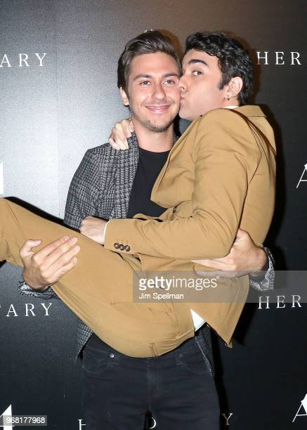 Actors Nat Wolff and Alex Wolff attend the screening of Hereditary hosted by A24 at Metrograph on June 5 2018 in New York City