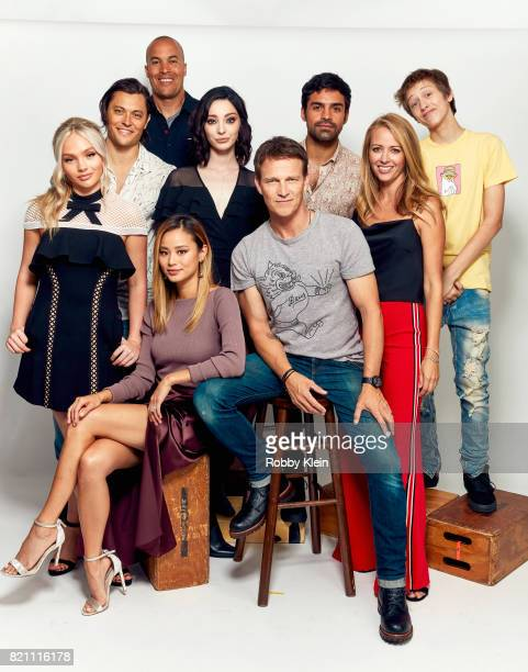 Actors Natalie Alyn Lind Blair Redford Coby Bell Emma Dumont Sean Teale Amy Acker and Percy HynesWhite Actors Jamie Chung and Stephen Moyer from...