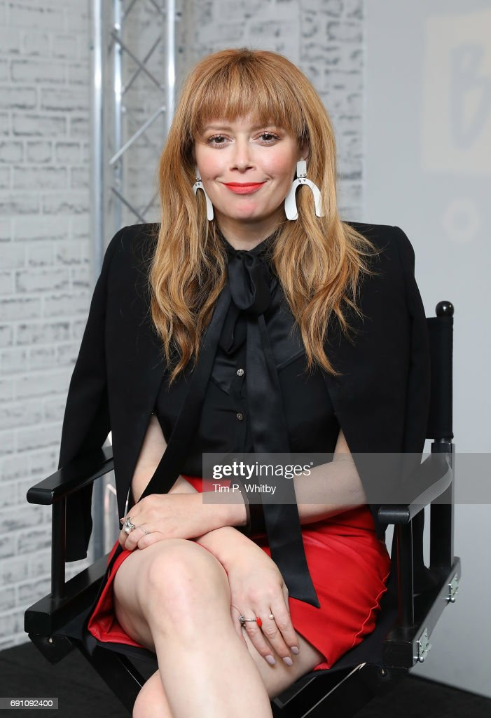 Actors Natasha Lyonne from the cast of 'Orange is the New Black' speaks at the Build LDN event at AOL London on June 1, 2017 in London, England.