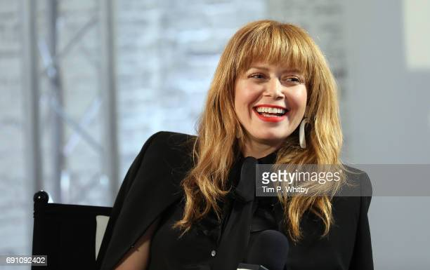 Actors Natasha Lyonne from the cast of 'Orange is the New Black' speaks at the Build LDN event at AOL London on June 1 2017 in London England