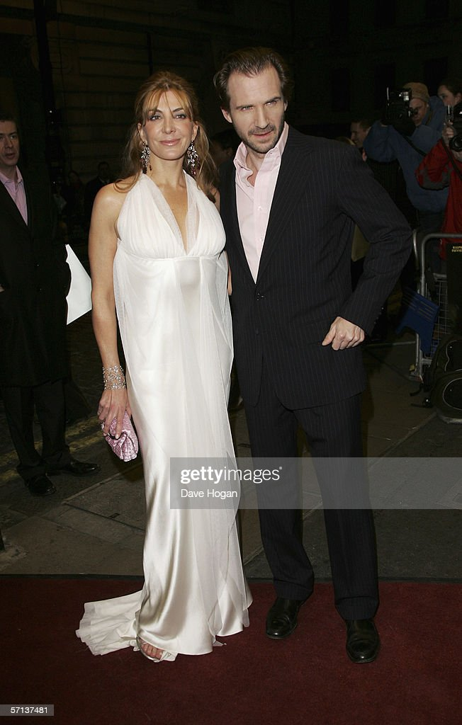 Actors Natasha Richardson and Ralph Fiennes arrive at the UK Premiere of 'The White Countess' at the Curzon Mayfair on March 19, 2006 in London, England.