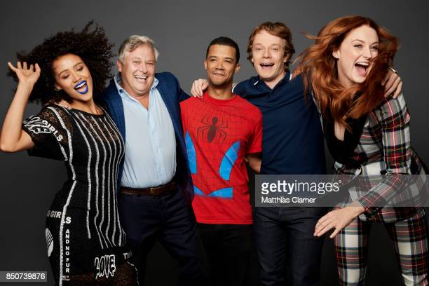 Actors Nathalie Emmanuel Conleth Hill Jacob Anderson Alfie Allen and Sophie Turner from Game of Thrones are photographed for Entertainment Weekly...