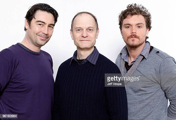 Actors Nathaniel Parker David Hyde Pierce and Clayne Crawford pose for a portrait during the 2010 Sundance Film Festival held at the WireImage...
