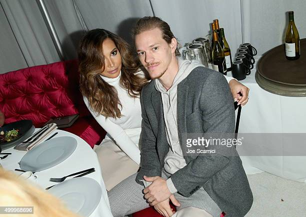 Actors Naya Rivera and Ryan Dorsey attend the March Of Dimes Celebration Of Babies Luncheon honoring Jessica Alba at the Beverly Wilshire Four...