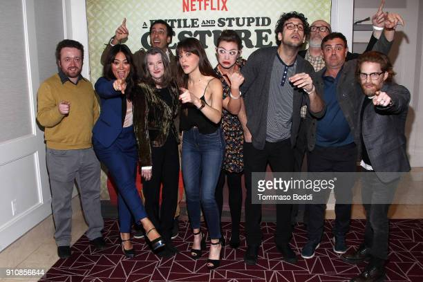 Actors Neil Casey Camille Guaty Lonny Ross Annette O'Toole Jackie Tohn Elvy Yost Rick Glassman Rick Overtone Joe Lo Truglio and Seth Green attend the...