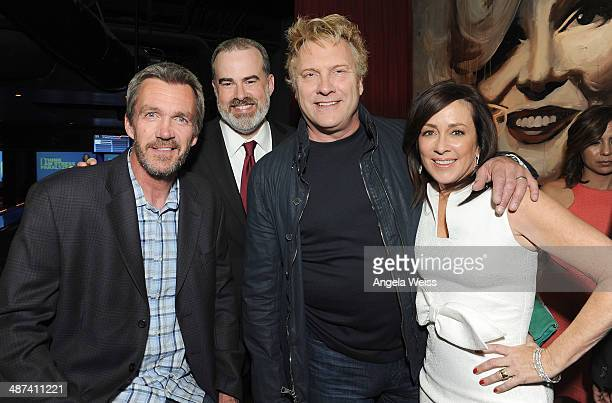 Actors Neil Flynn, Alex Kendrick, David Hunt and Patricia Heaton attend the premiere after party of TriStar Picture's 'Mom's Night Out' at Lucky...