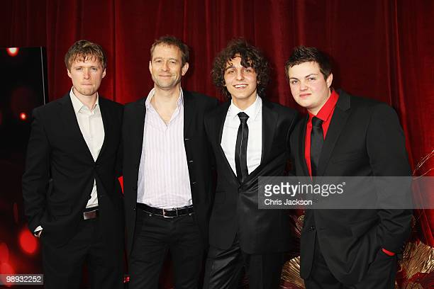 Actors Neil Toon Grant Masters Ashley Margolis and Dean Aspen attend the 2010 British Soap Awards held at the London Television Centre on May 8 2010...